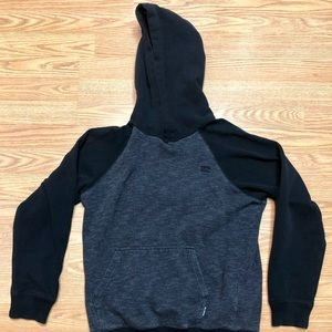 Billabong Boys Large Black & Gray Pullover hoodie
